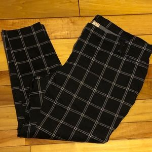 Faded Glory, Plaid Jeggings, Size 3X